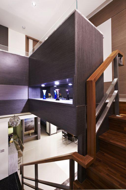 简约复式家装隔断设计装修图