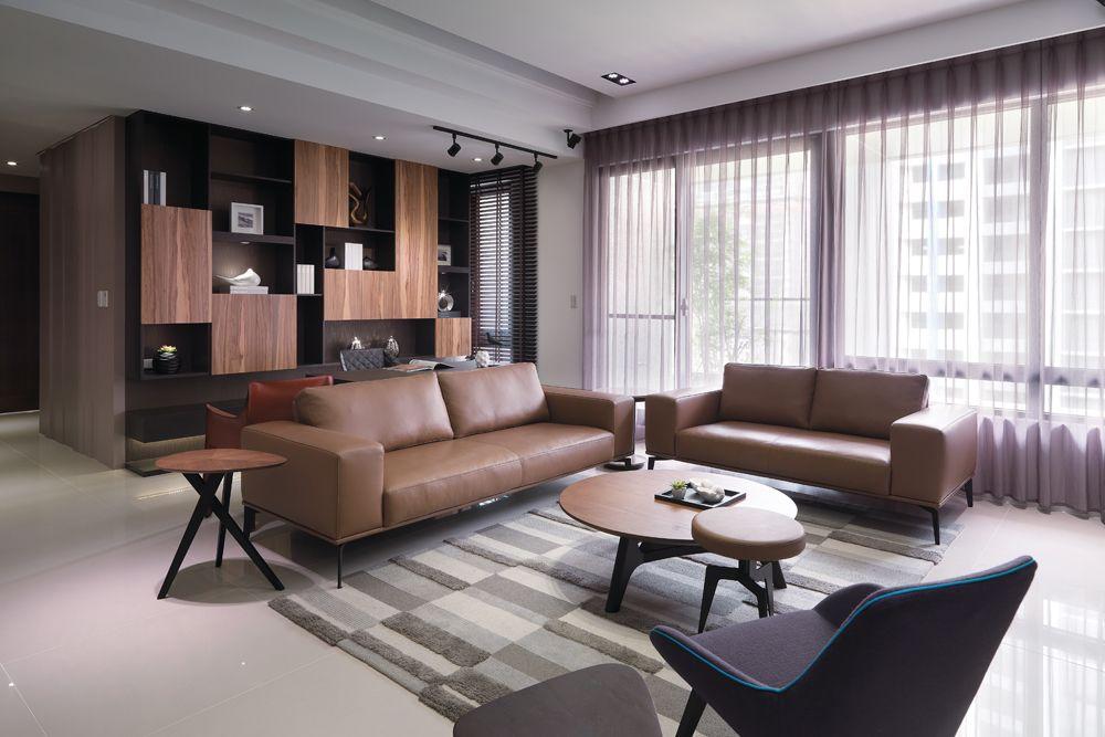 含蓄简约风格公寓室内装饰图