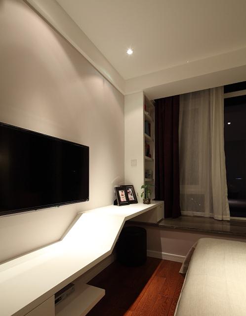 简约现代设计室内电视背景墙装修效果图