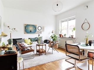 明亮精致北欧风格公寓效果图
