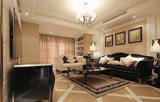 新古典风格客厅装饰效果图