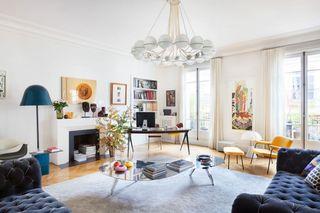 清新北欧波普风混搭公寓装饰设计