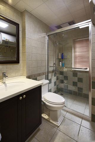 现代美式卫生间装修效果图