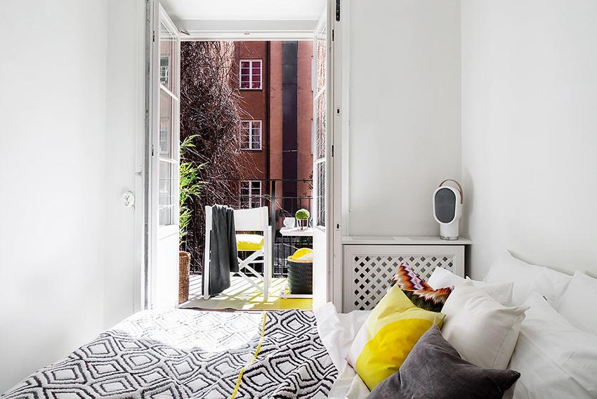 时尚精致北欧风卧室效果图