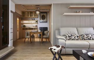 休闲原木日式小公寓效果图