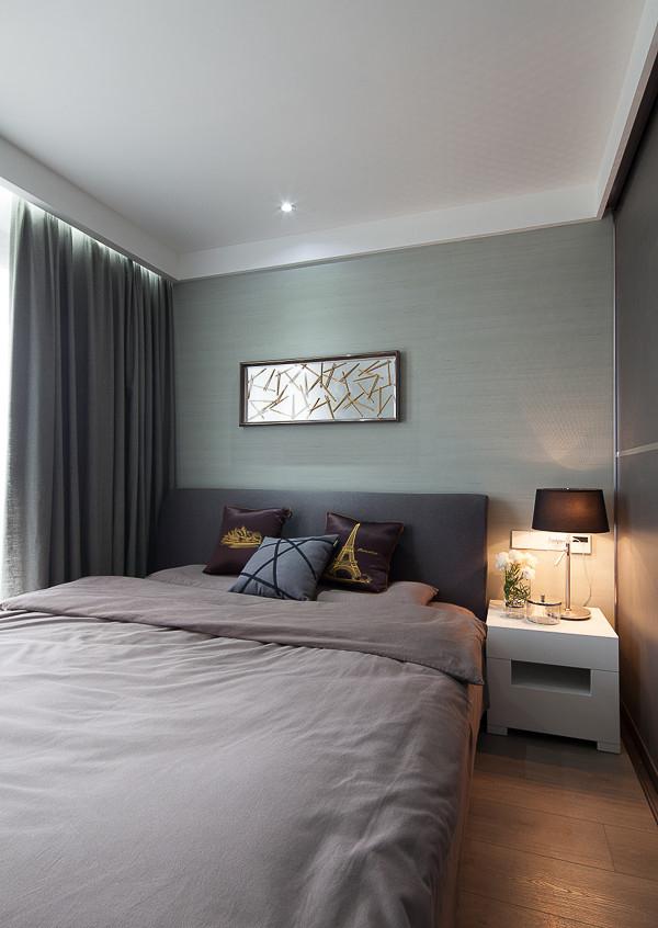 现代设计卧室装潢效果图
