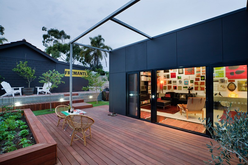 个性工业风混搭 小别墅外墙设计