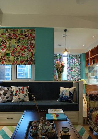 精美复古美式混搭风公寓装潢设计