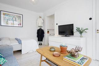 明亮北欧风一居室小公寓设计