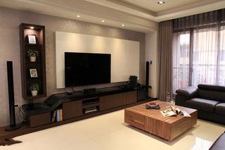 美式风格三室两厅装潢设计