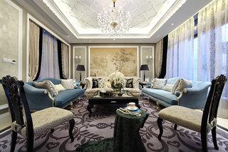 摩登新古典客厅装饰大全