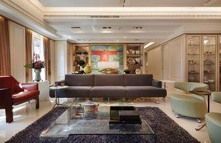 现代中美式混搭三居公寓设计