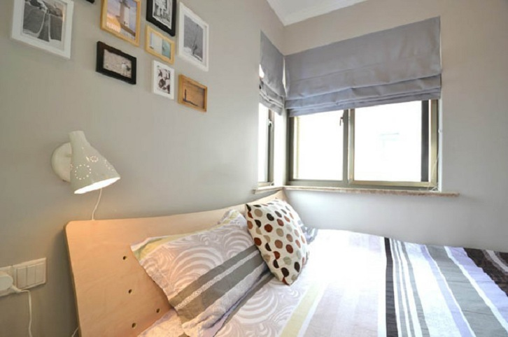 温馨宜家卧室窗户效果图