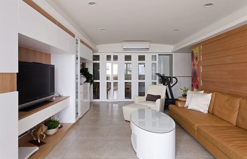 最新温馨简约家装客厅装饰案例图