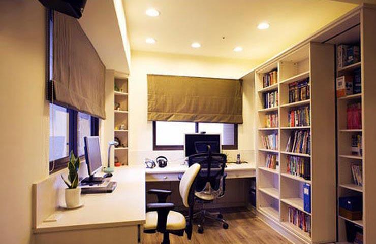最新现代家居书房设计装修效果图