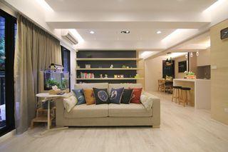 素雅简约宜家装修开放式公寓设计