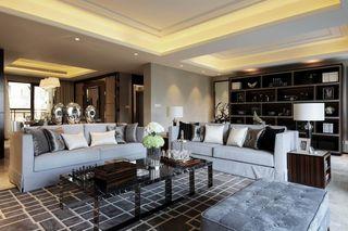 沉稳豪华现代两室两厅装饰图