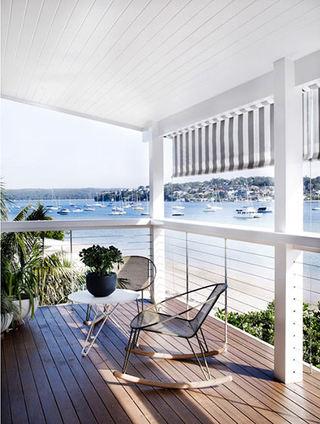 时尚现代家装海景阳台设计装修鉴赏图