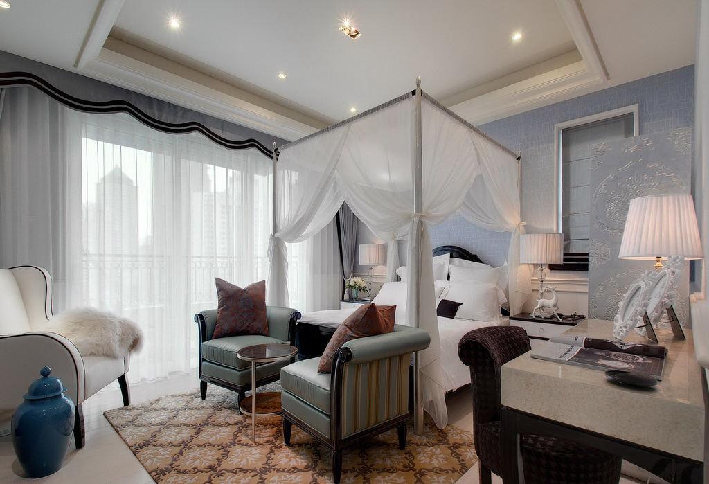奢华精美欧式卧室效果图