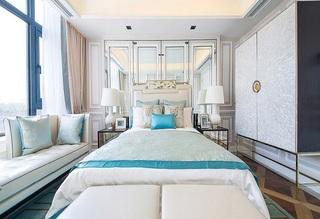 精致新古典风格 卧室背景墙设计