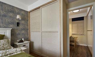 现代简约卧室移门衣柜设计