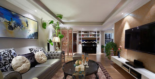雅致新古典三室两厅美图欣赏