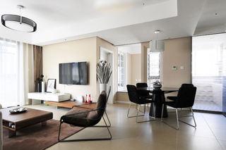 68平米二居室现代简约装修图