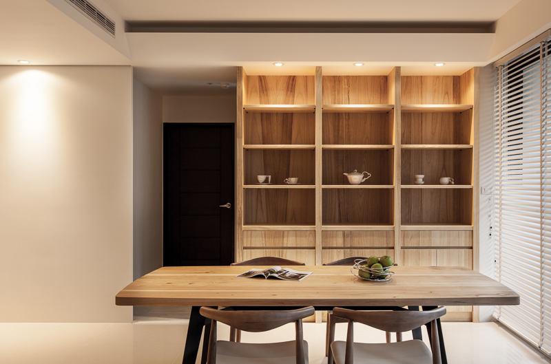 日式宜家风餐厅原木家装设计