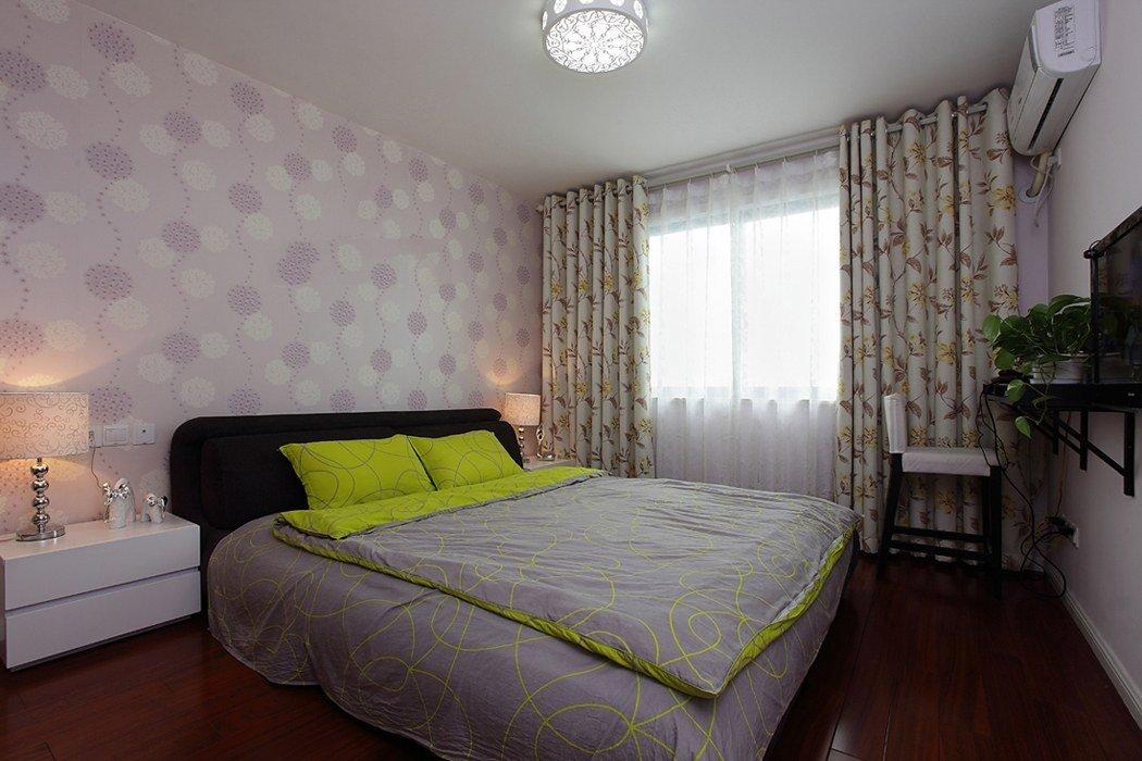 浪漫现代田园风卧室布置