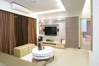 小户型二居室简约设计装修图