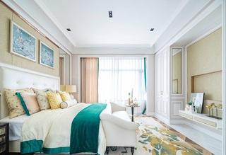 唯美浪漫新古典风格卧室效果图