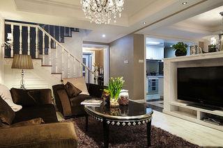 新古典风格复式家装图
