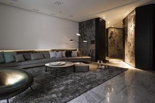 多元化魅力后现代风格两室两厅装修案例图