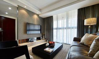 现代简约装修两室两厅效果图