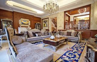 豪华欧式古典风格别墅室内隔断设计装修效果图