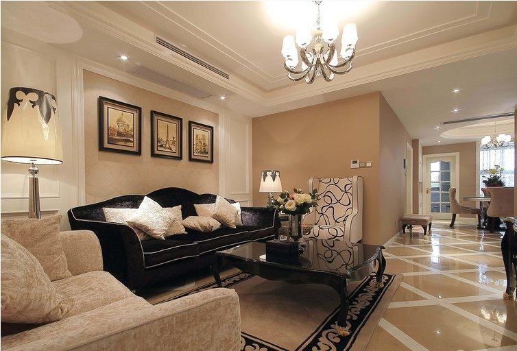 新古典风格三室两厅装修图