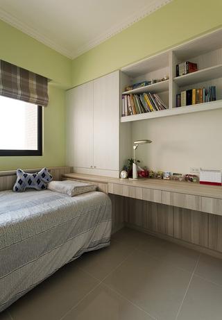 简约时尚卧室书架设计