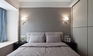素雅简约风卧室背景墙设计