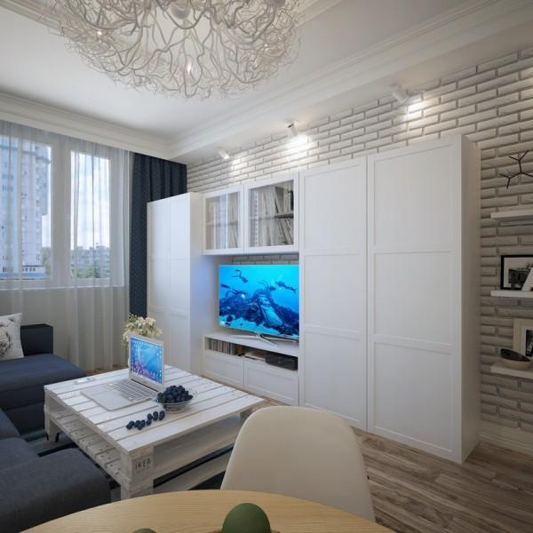 精致文艺北欧风 电视背景墙设计