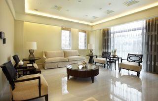 145平简约美式公寓装修设计