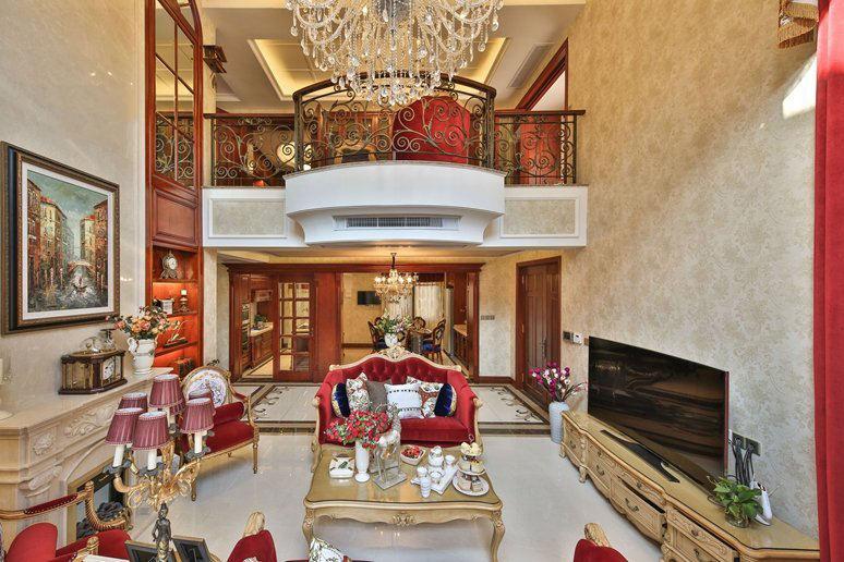 奢华古典欧式别墅家居装潢设计