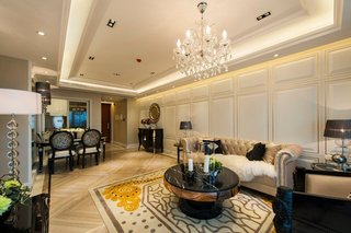 奢华欧式新古典 三居美宅设计