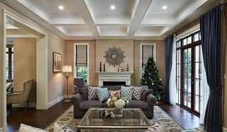 精美简欧风格 客厅沙发背景墙设计