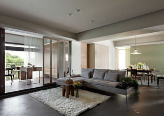 简约自然风公寓室内装饰
