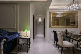 古典美式风格家装室内过道吊顶设计图