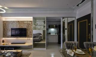 美式风格家装电视背景墙设计