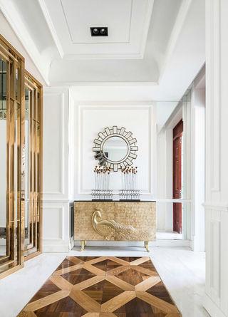 时尚唯美新古典家居别墅设计