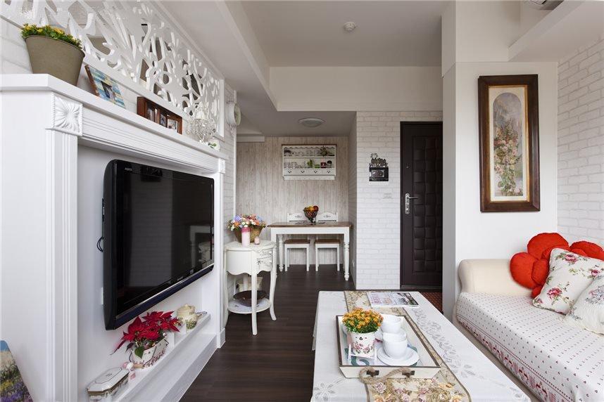 宜家风格公寓跃层客厅设计效果图片