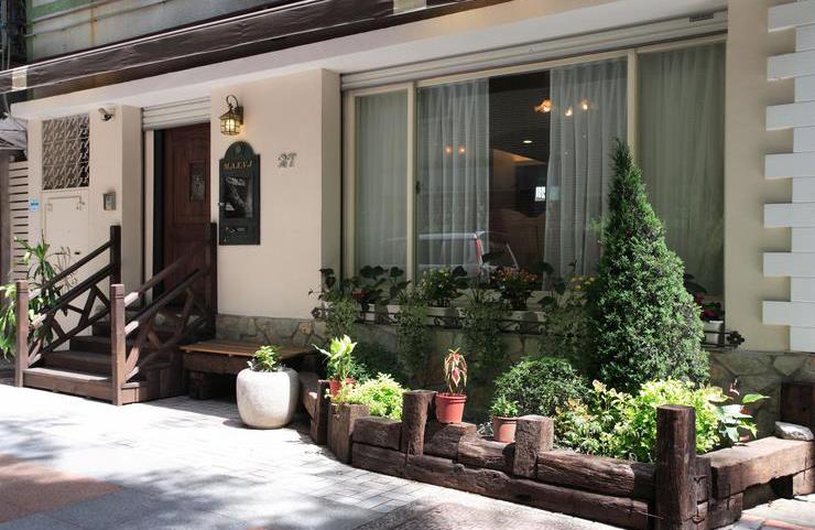 休闲田园风 独栋公寓外墙设计