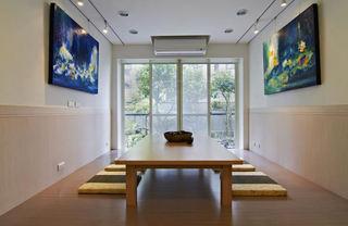 现代日式风家居榻榻米效果图